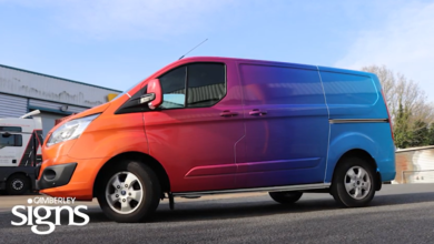 gradient vehicle wrap